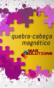 Quebra-cabeça magnético - Mag Solutions