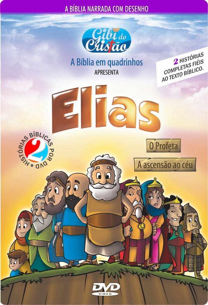 dvd gibi do cristão elias o profeta e elias a ascensão ao céu