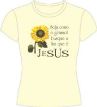 Camisetas Paz -  Girassol
