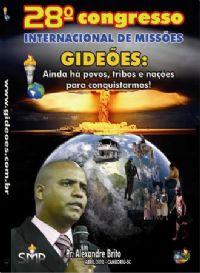 DVD do GMUH 2010 Pregação - Pr Alexandre Brito - Midia Prata