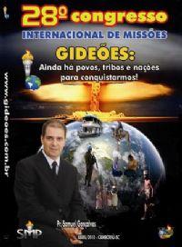 DVD do GMUH 2010 Pregação - Pr Samuel Gonçalves  - Midia Prata