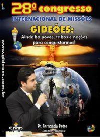 DVD do GMUH 2010 PREGAÇÃO - Pr Fernando Peters  - Midia Prata