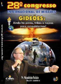 DVD do GMUH 2010 PREGA��O - Pr  Napole�o Falc�o  - Midia Prata
