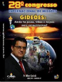 DVD do GMUH 2010 PREGAÇÃO - Pr  Nilton konink - Midia Prata