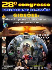 DVD - Gideões 2010 - Vendas no Atacado - 50 DVDS -
