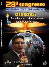 DVD do GMUH 2010 Pregação - Pr Luis Salustiano - Midia Prata