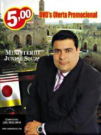KIT  com 4 DVDs de Mensagens - Pastor Junior Souza
