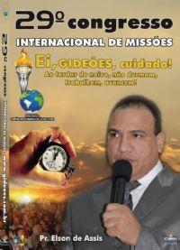 DVD do GMUH 2011 Pregação - Pr  Elson de Assis