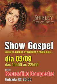 Show Gospel - dia 03 de Setembro em Sorocaba - SP -  APENAS MODELO -