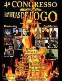 4� CONGRESSO DE AVIVAMENTO LABERADAS DE FOGO