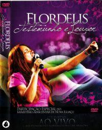 DVD - Testemunho e Louvor - Flordelis - AO VIVO