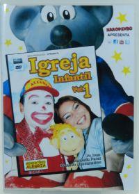 Igreja Infantil Vol 1 - DVD Xaropinho
