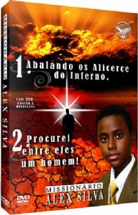 Kit com 2 DVDs - Mission�rio Alex Silva