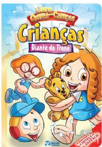 Livro Quebra-Cabeças - Crianças Diante do Trono
