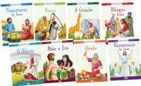 Kit com 8 Livros - As Mais Belas Histórias da Bíblia