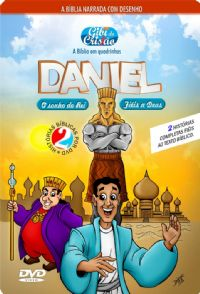 DVD Gibi do Crist�o - Daniel O Sonho do Rei e Daniel Fi�is a Deus