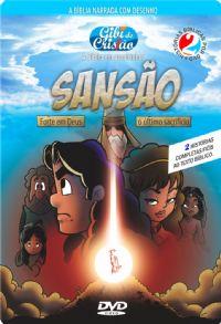 DVD Gibi do Cristão Sansão Forte em Deus  O Último Sacrifício- Atacado