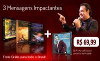 1º KIT Com 3 dvds + mais um CD - Pr Marco Feliciano