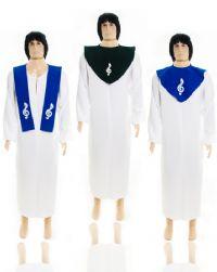 Becas Batismo Masculina com Detalhes - Rebeca Becas