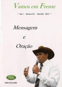 Vamos em Frente - Mensagem e Oração - Társis Editora - Revista