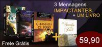 3� Kit com 3 DVDs + um Livro - Pastor Marco Feliciano