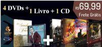 4� Kit com 4 DVDs + um Livro + um CD - Pastor Marco Feliciano