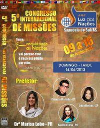 5� A.M.E Luz das Na��es - Dr� Marisa Lobo