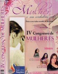 IV Congresso de Mulheres - Pastora Ana Paula Guedes - A.M.E