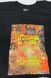 Camiseta Unissex 5� Congresso - A.M.E Luz das Na��es