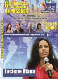 6� A.M.E Luz das Na��es - Pastora Luciene Viana