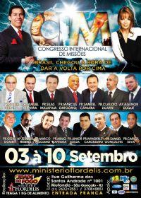C.I.M - Congresso Internacional de Missões 2014 -Pastor Claudio Duarte