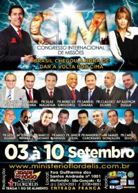 C.I.M - Congresso Internacional de Missões 2014 -Apóstolo Agenor Duque