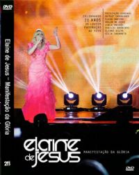 Manifestação da Glória - Elaine de Jesus - DVD