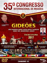 DVD do GMUH 2017 -  Pastor Erinaldo Gouveia