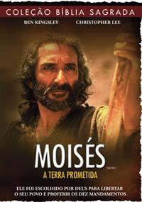 Coleção Bíblia Sagrada - Moisés A Terra Prometida