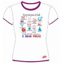 Camisetas Paz -  Desejo ser um pouco de Tudo