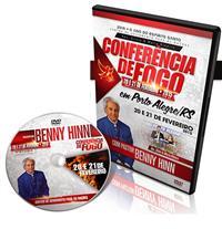 Conf. De Fogo- DVD Duplo - Pastor Benny Hinn - Apóstolo Silvio Ribeiro