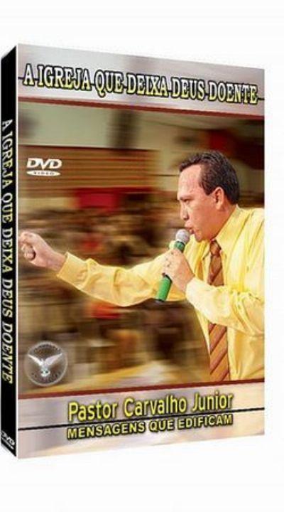 dvd de pregao de pr.carvalho junior